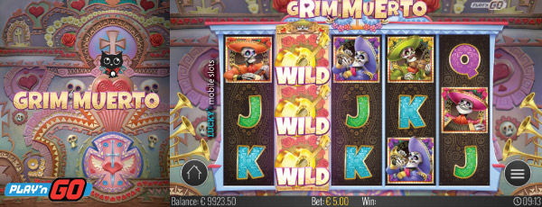 New Play'n GO Grim Muerto Slot Stacked Wilds