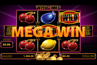 Wild Times Mobile Slot Mega Win