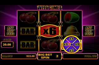 Wild Times Mobile Slot Multiplier