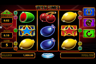 Wild Times Mobile Slot Reels