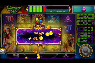 Dancing In Rio Mobile Slot Big Win