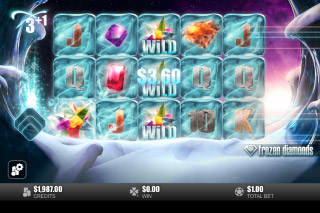 Frozen Diamonds Mobile Slot Free Spins