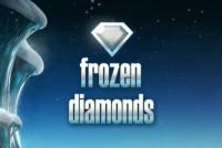 Frozen Diamonds Mobile Slot Logo