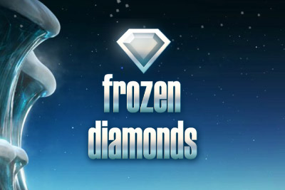 Frozen Diamonds Mobile Slot Logo