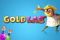 Gold Lab Mobile Slot Logo
