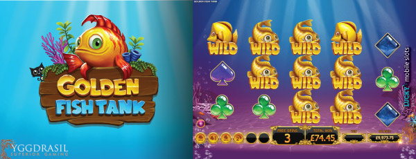 Golden Fish Tank Mobile Slot Free Spins