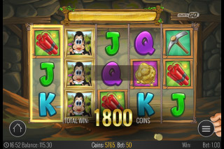 Hugo Mobile Slot Free Spins Win