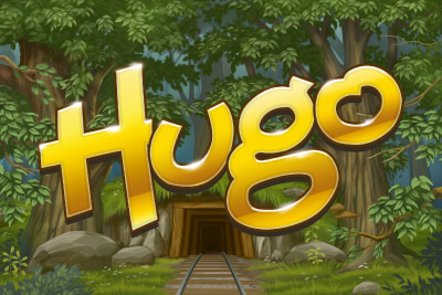 Hugo Mobile Slot Logo