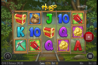 Hugo Mobile Slot Reels