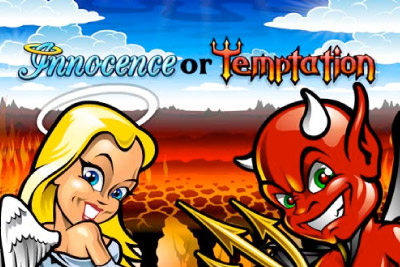 Innocence Or Temptation Mobile Slot Logo