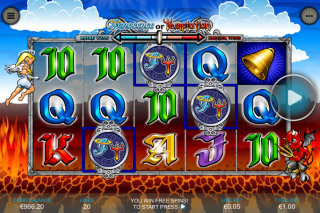 Innocence Or Temptation Mobile Slot Reels