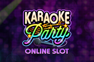Karaoke Party Mobile Slot Logo