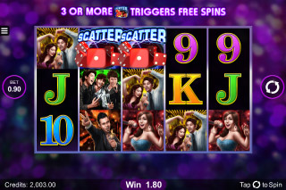 Karaoke Party Mobile Slot Scatters