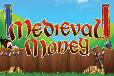 Medieval Money Mobile Slot Logo