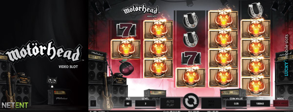 Motorhead Video Slot Bomber Feature Preview