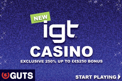 GUTS Casino Add IGT Slot In UK & Other Countries