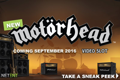 New NetEnt Motorhead Video Slot Coming September 2016