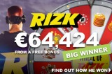 Player Wins Big On Free Casino Bonus At Rizk Casino