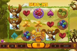 Seasons Mobile Slot Spring