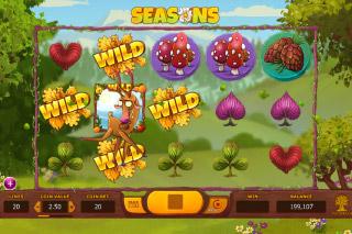 Seasons Mobile Slot Summer