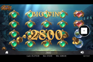 Secrets of Atlantis Mobile Slot Big Win
