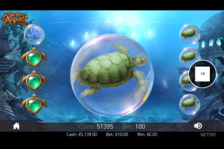 Secrets of Atlantis Mobile Slot Colossal Symbols