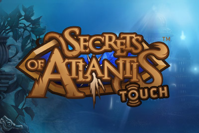 Secrets of Atlantis Mobile Slot Logo