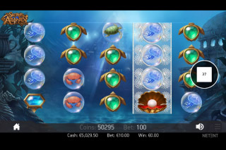 Secrets of Atlantis Mobile Slot Reels