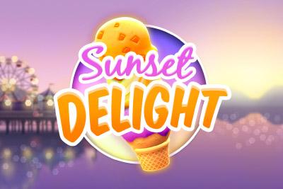 Sunset Delight Mobile Slot Logo