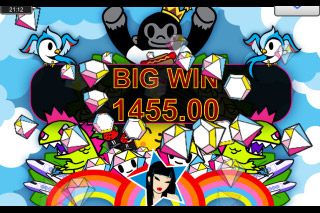 Tokidoki Lucky Town Mobile Slot Big Win