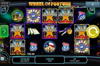 Wheel of Fortune on Tour Mobile Slot Bonus