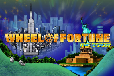 Wheel of Fortune on Tour Mobile Slot Logo