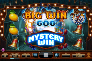 Wicked Circus Mobile Slot Mystery Win
