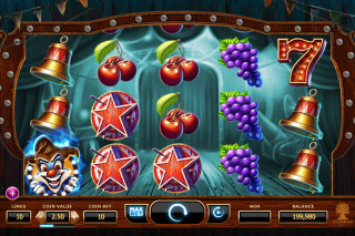 Wicked Circus Mobile Slot Reels