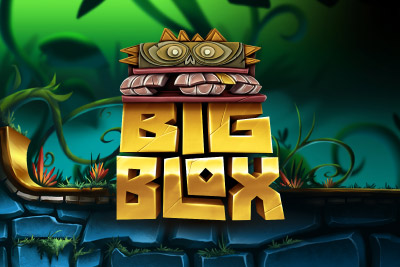 Big Blox Mobile Slot Logo