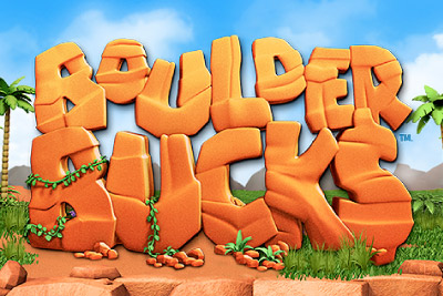 Boulder Bucks Mobile Slot Logo