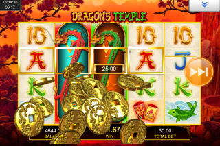 Dragons Temple Mobile Slot Big Win