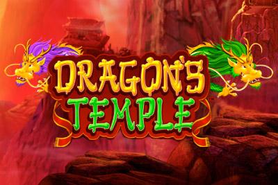 Dragons Temple Mobile Slot Logo