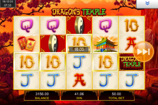 Dragons Temple Mobile Slot Scatters