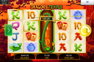 Dragons Temple Mobile Slot Wilds