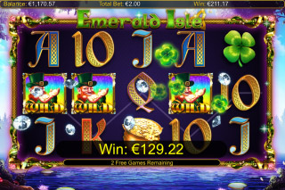 Emerald Isle Mobile Slot Free Spins