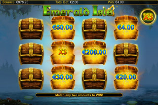 Emerald Isle Mobile Slot Bonus