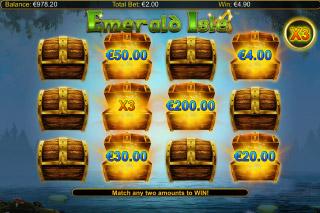 Emerald Isle Mobile Slot Bonus