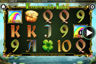 Emerald Isle Mobile Slot Reels