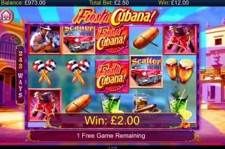 Fiesta Cubana Mobile Slot Bonus