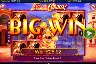 Fiesta Cubana Mobile Slot Big Win
