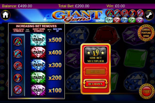 Giant Gems Mobile Slot Fortune Spins