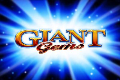 Giant Gems Mobile Slot Logo
