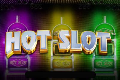 Hot Slot Mobile Slot Logo