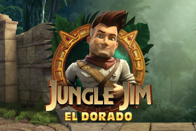 Jungle Jim El Dorado Mobile Slot Logo